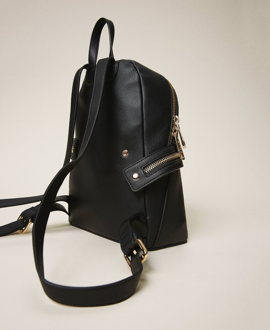 New Cécile backpack with all around zip Turtledove Woman 202TB7184-03