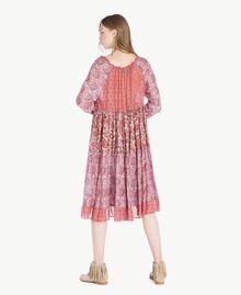 Robe imprimée Imprimé Mélangé Cachemire Femme TS82XB-03