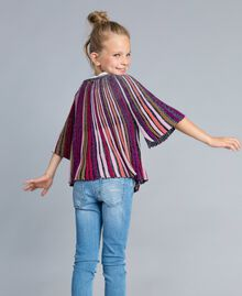 Maglia in lurex multicolor Multicolor Lurex Bambina GA83KN-03