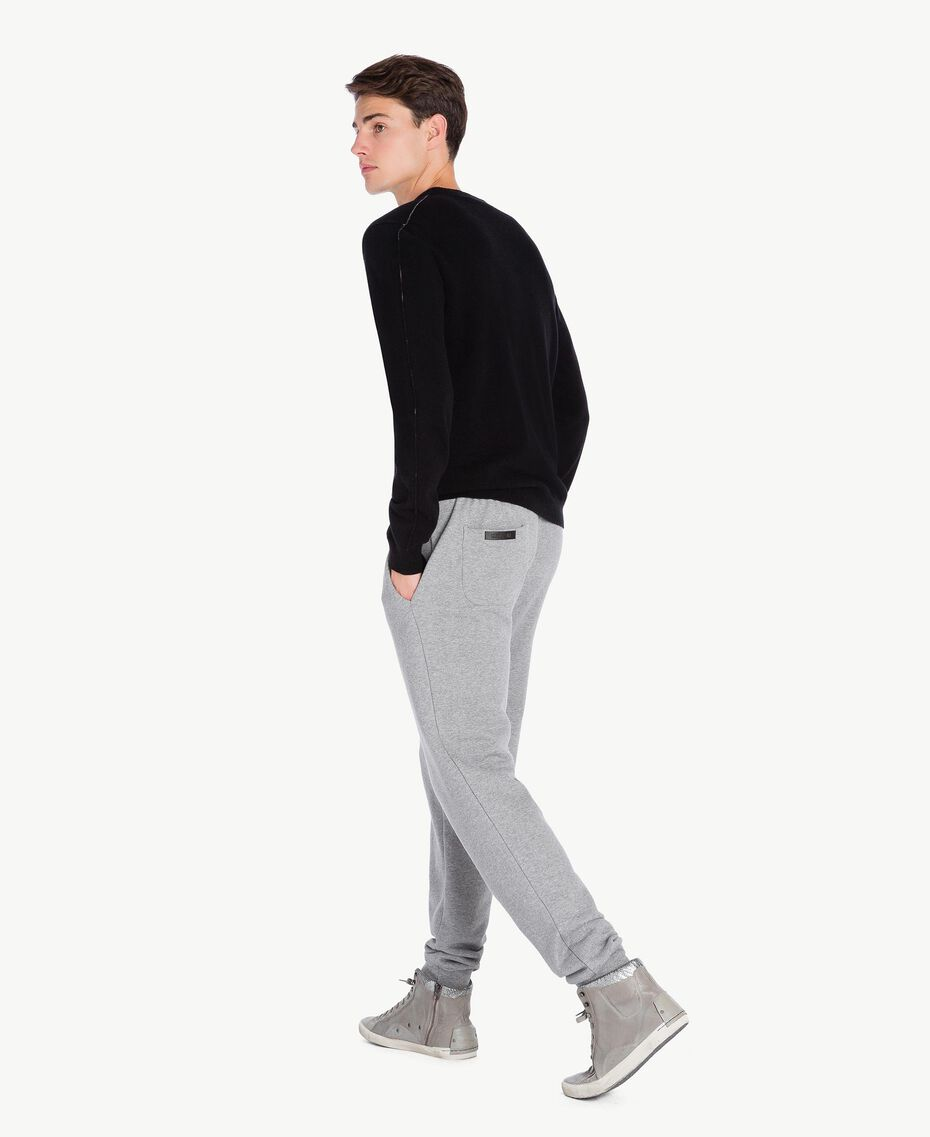 Jogging trousers Melange Grey Male UA72A3-03
