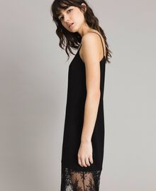 Lace slip dress Black Woman 191TP260H-02