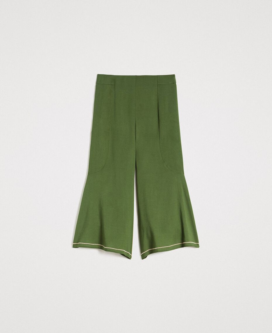 Cropped trousers Amazon Green Woman 191LM2REE-0S