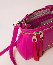 Kleine New Cécile Bag aus Lederimitat Schwarz Frau 201TO8181-04