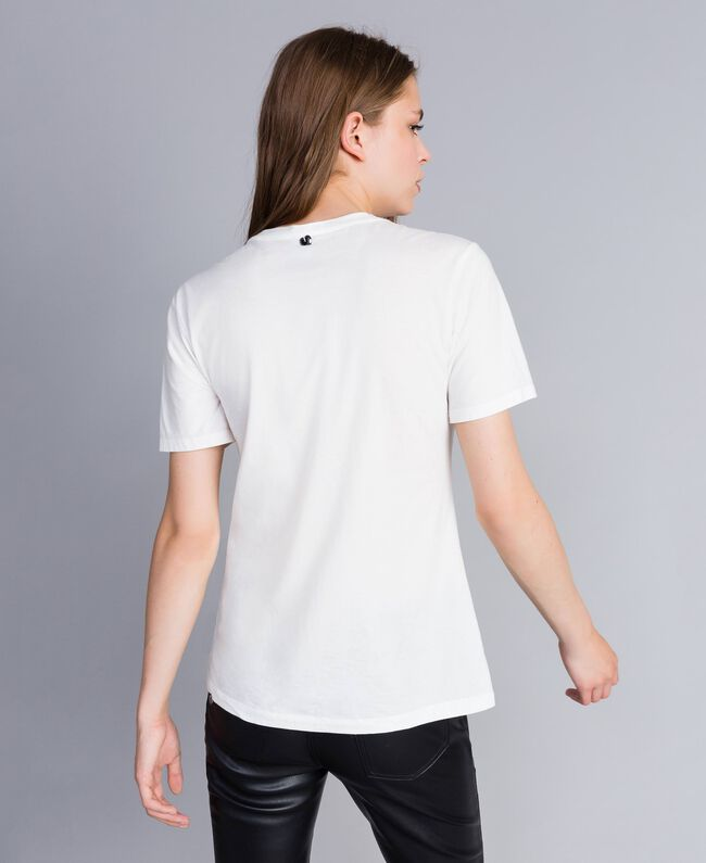 Studded print t-shirt Mother Of Pearl Woman JA82RA-03