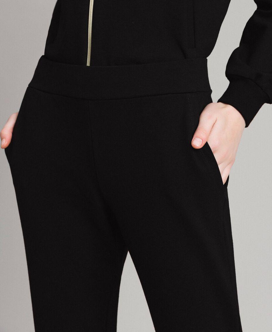 Pantaloni jogging Nero Donna 191LB22PP-05