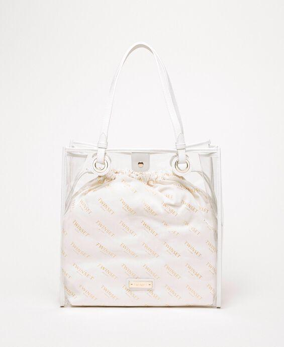 Сумка-шоппер с сумочкой-вкладышем с логотипом