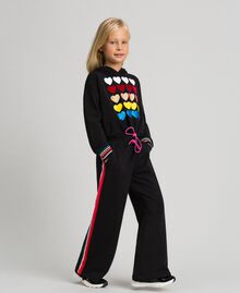 Hoodie and trousers Black Child 999GJ2013-02