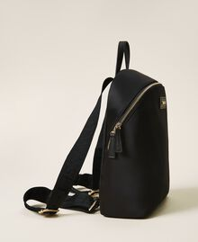 Satin Twinset Bag backpack Black Woman 202TB7201-01