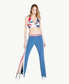 Scuba pants Dallas Blue Woman LS82DD-02
