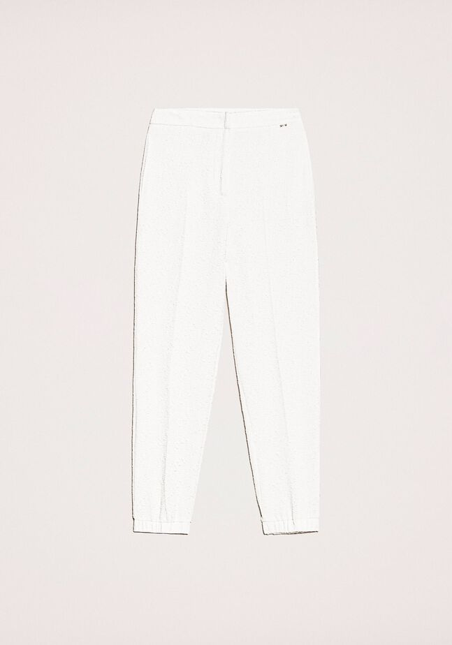 Floating fabric joggers