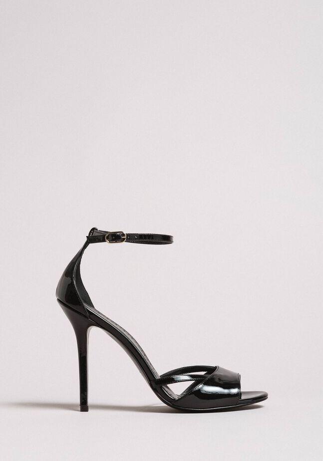 Leder-Sandalen mit Riemchen