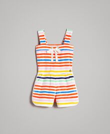 Mehrfarbiger gestreifter Overall Streifen Multicolour Kind 191GB2221-01