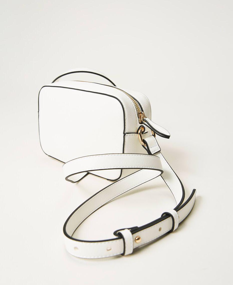 Shoulder bag with logo Black Woman 211TD8081-03