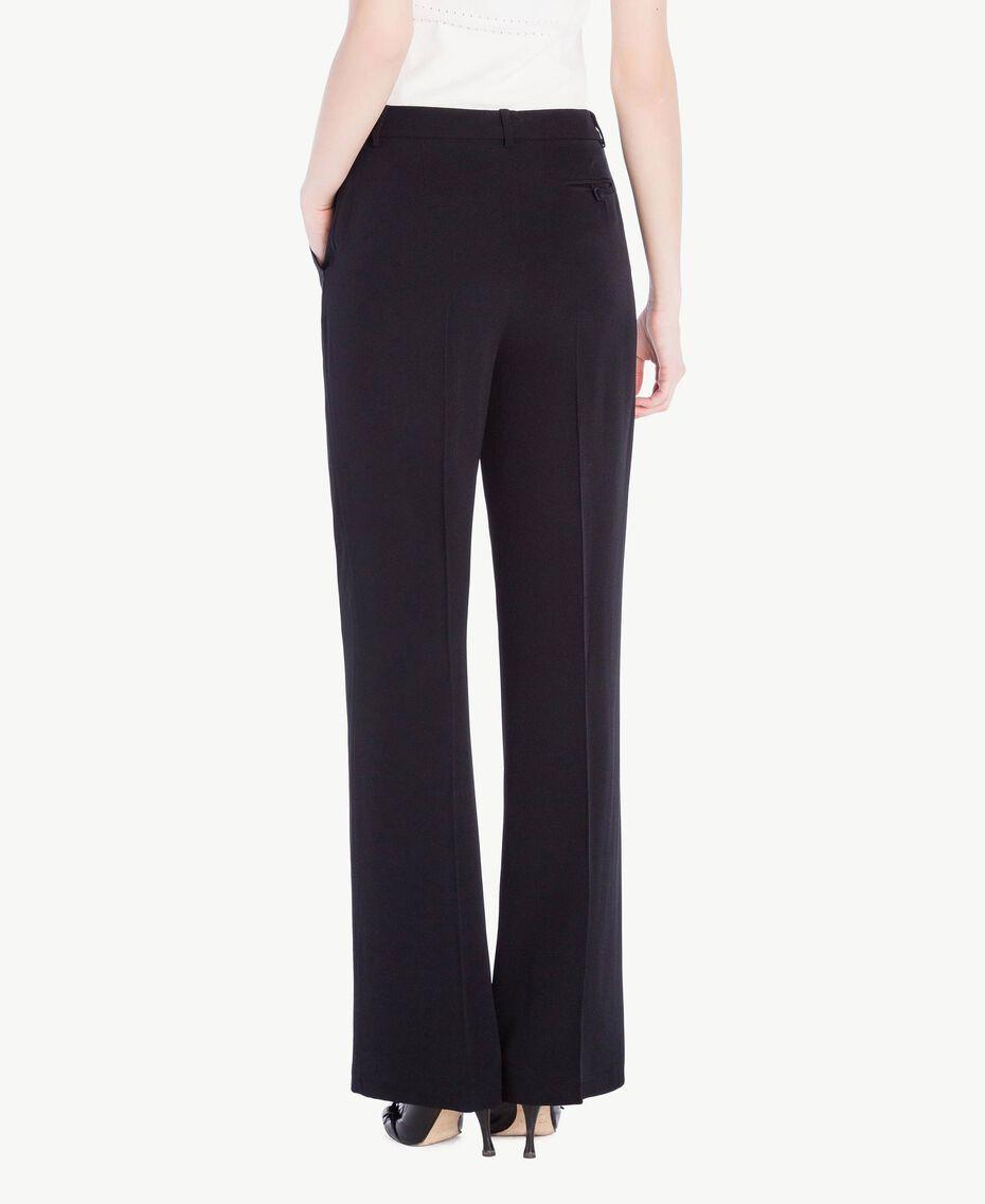 Pantalon palazzo cady Noir Femme PS829D-03