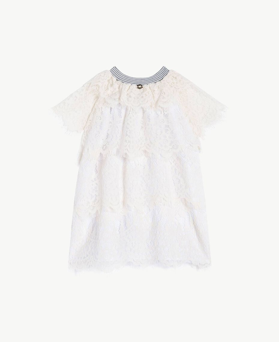 Robe dentelle Chantilly Enfant FS82UP-02