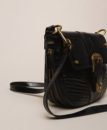 Large Rebel shoulder bag Black Woman 201TA723J-03