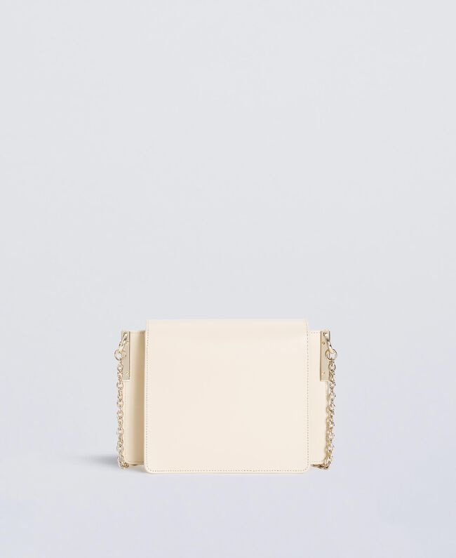 Studded satchel Ivory Woman OS8TLA-03