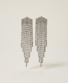Orecchini 'Zircon' con frange di strass Argento Crystal Donna 212AA4120-01