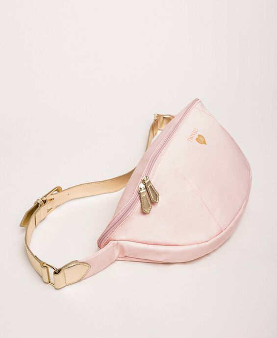 Bag with laminated faux leather