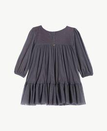 Embroidered dress Lava Grey FA72JP-02