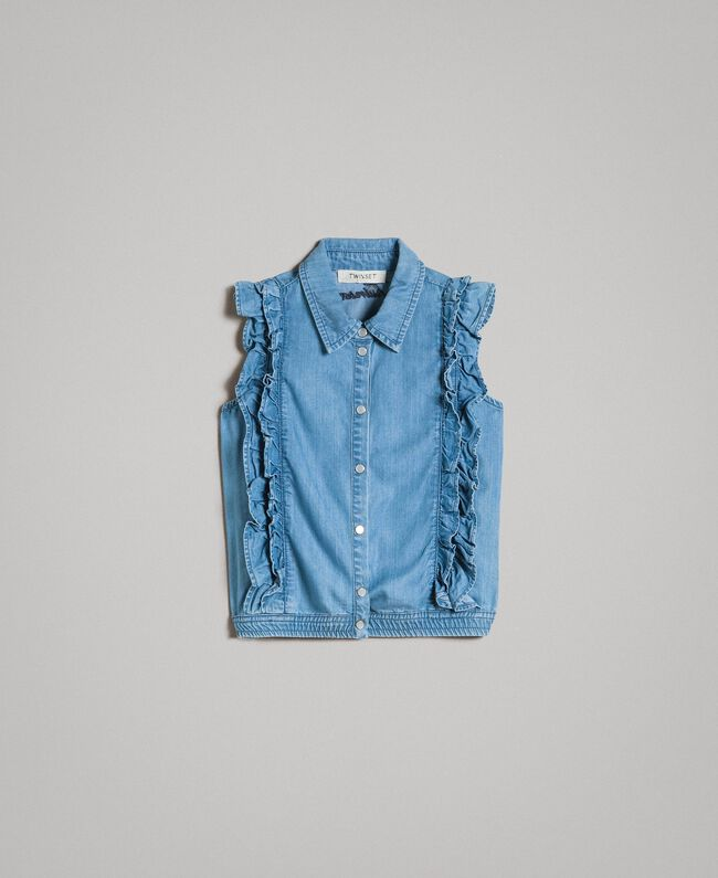 Light denim top Soft Denim Child 191GJ2561-01