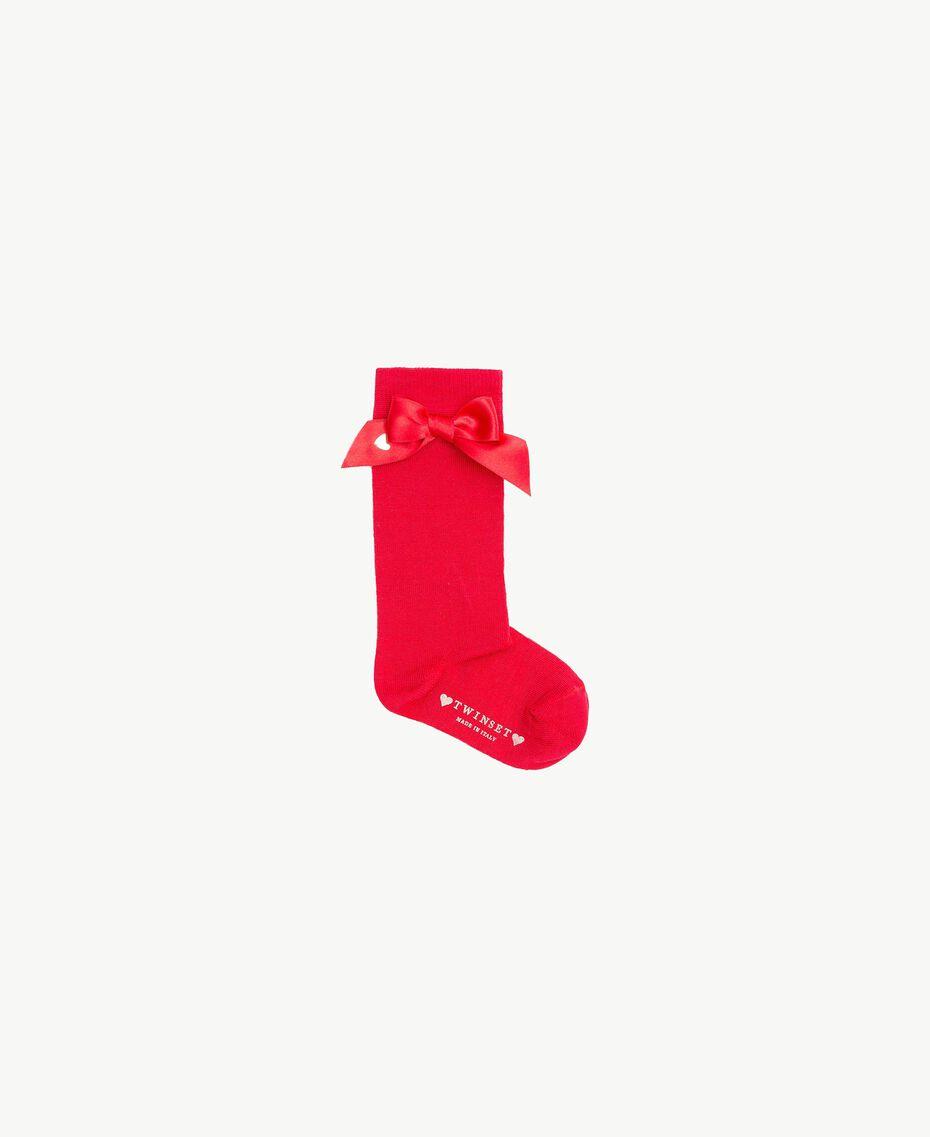 Chaussettes nœud Rouge Grenade Enfant FS8ACA-01