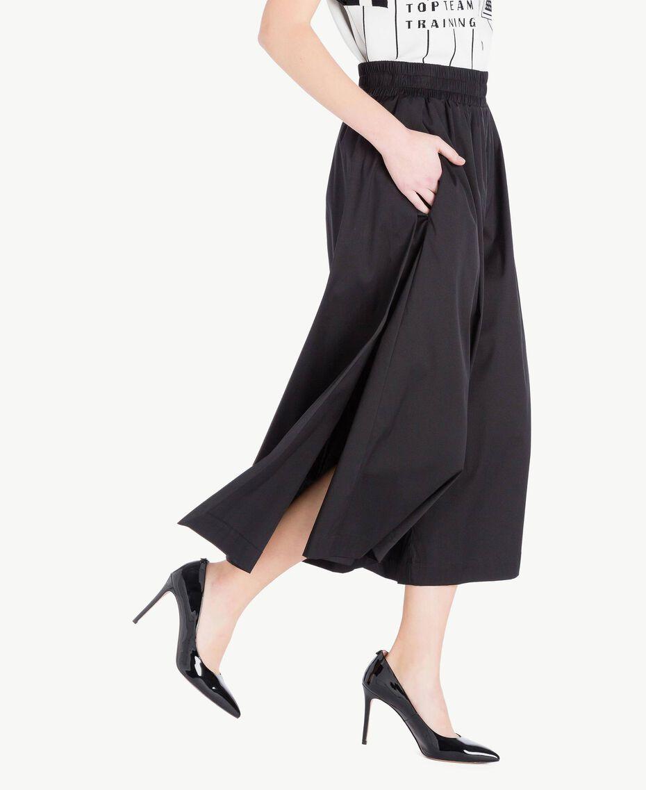 Jupe popeline Noir Femme JS82DM-02