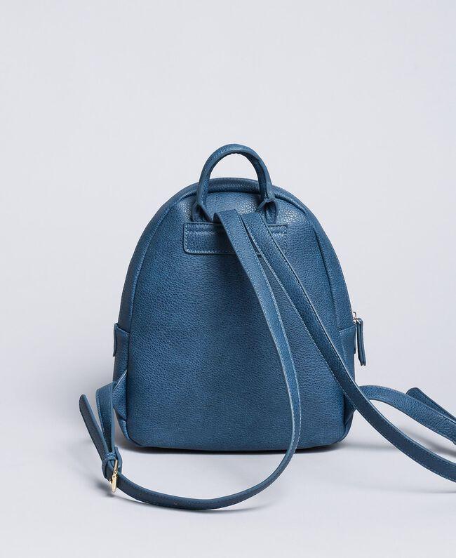 Рюкзак из искусственной кожи с пайетками Синий Blackout Pебенок GA87CN-03