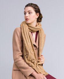 Schal aus meliertem Garn Camel Frau AA8P1A-0S