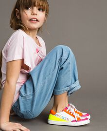 "Colour block sneakers ""Crystal Pink"" Child 191GCJ032-0S"