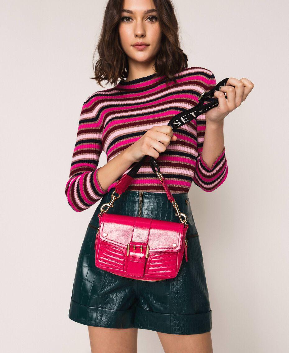 """Kleine Rebel Bag mit Logotrageriemen """"Jazz""""-Rosa Frau 201TO823U-0S"""
