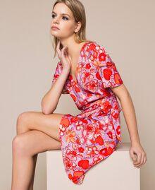 Floral print dress Reve / Rose Print Woman 201TQ2021-01