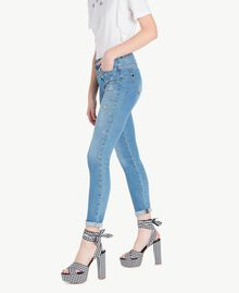 Skinny jeans Denim Blue Woman JS82WE-02