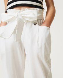 Poplin trousers Off White Child 211GJ2234-04