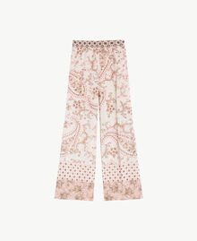 Printed trousers Vegas Pink Patch Print Woman BS8AHH-01