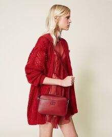 "Shoulder bag with pocket ""Geranium"" Red Woman 212TB7067-0S"