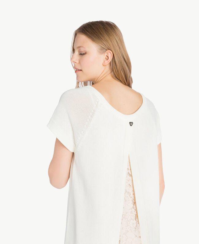 Lace dress Light Ivory Woman PS8371-04