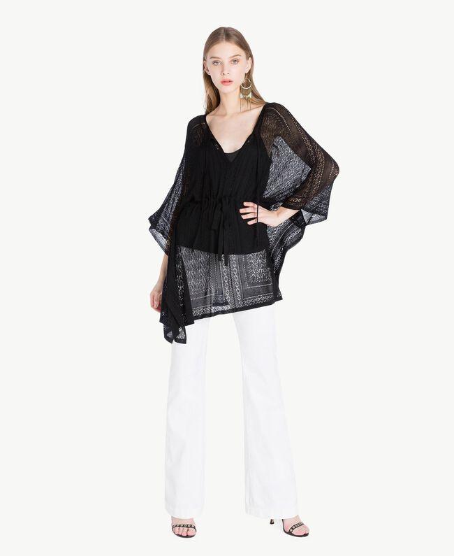 Cotton trousers White Woman TS82GA-05
