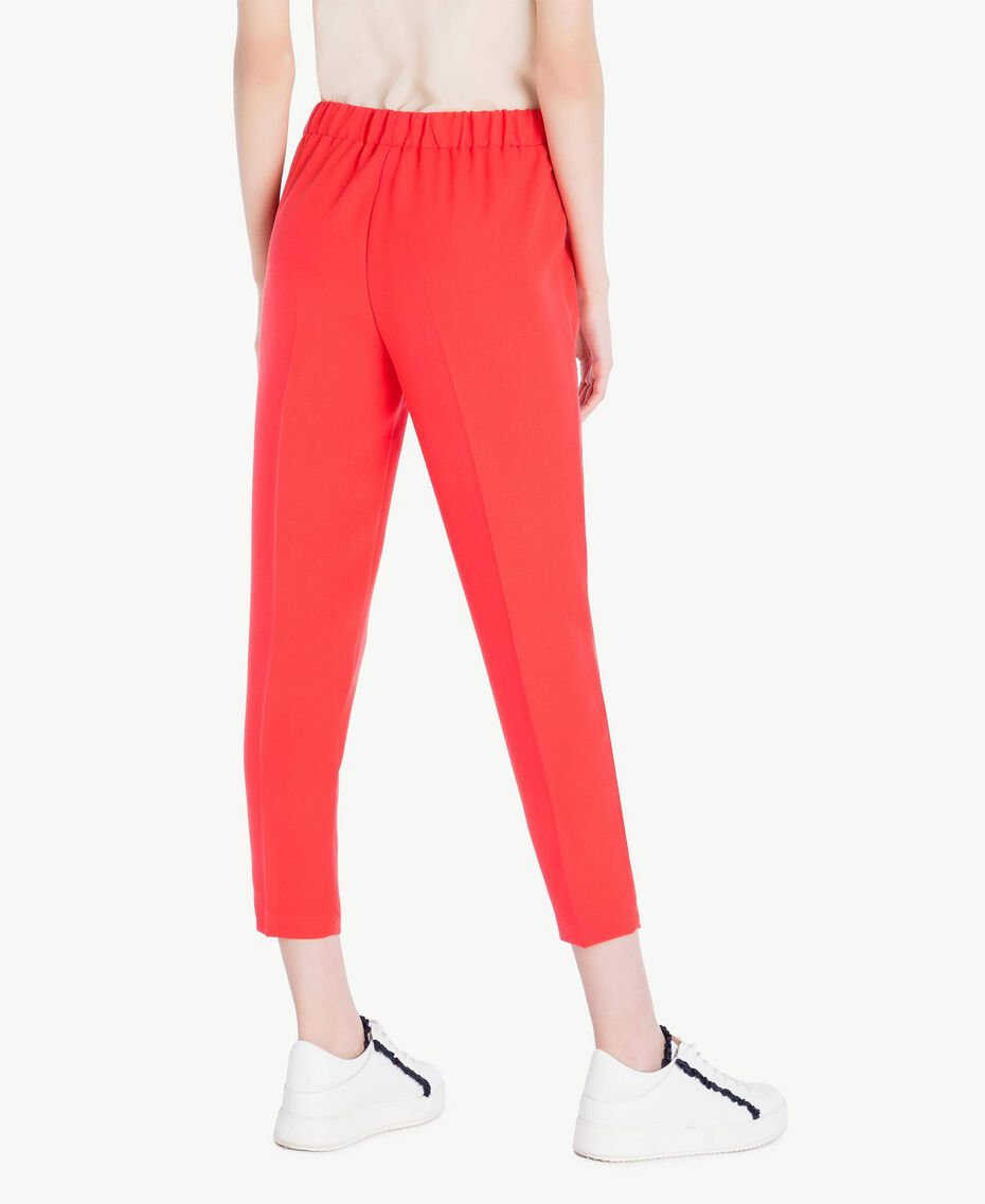 Cady drainpipe trousers Ginger Red Woman SS82AE-03
