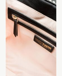 TWINSET Multicolour shoulder bag Multicolour Black / Cream / Coffee Woman RS8TFD-04