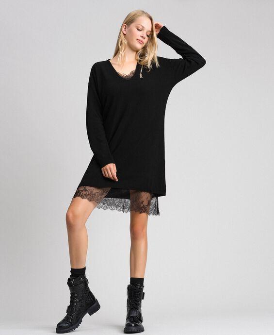 Cashmere blend maxi jumper
