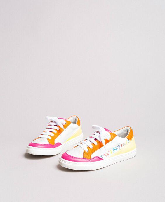 Sneakers color block
