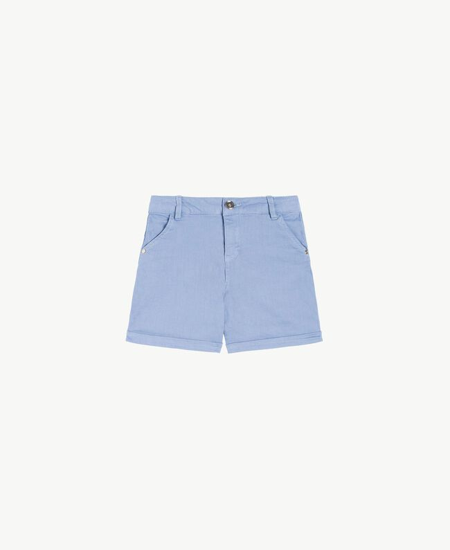 Short coton Bleu Infini Enfant GS82CQ-01