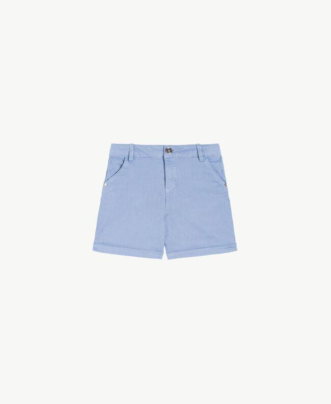 Cotton shorts Infinite Light Blue Child GS82CQ-01