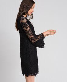 Robe courte en dentelle Noir Femme 192LI21EE-03