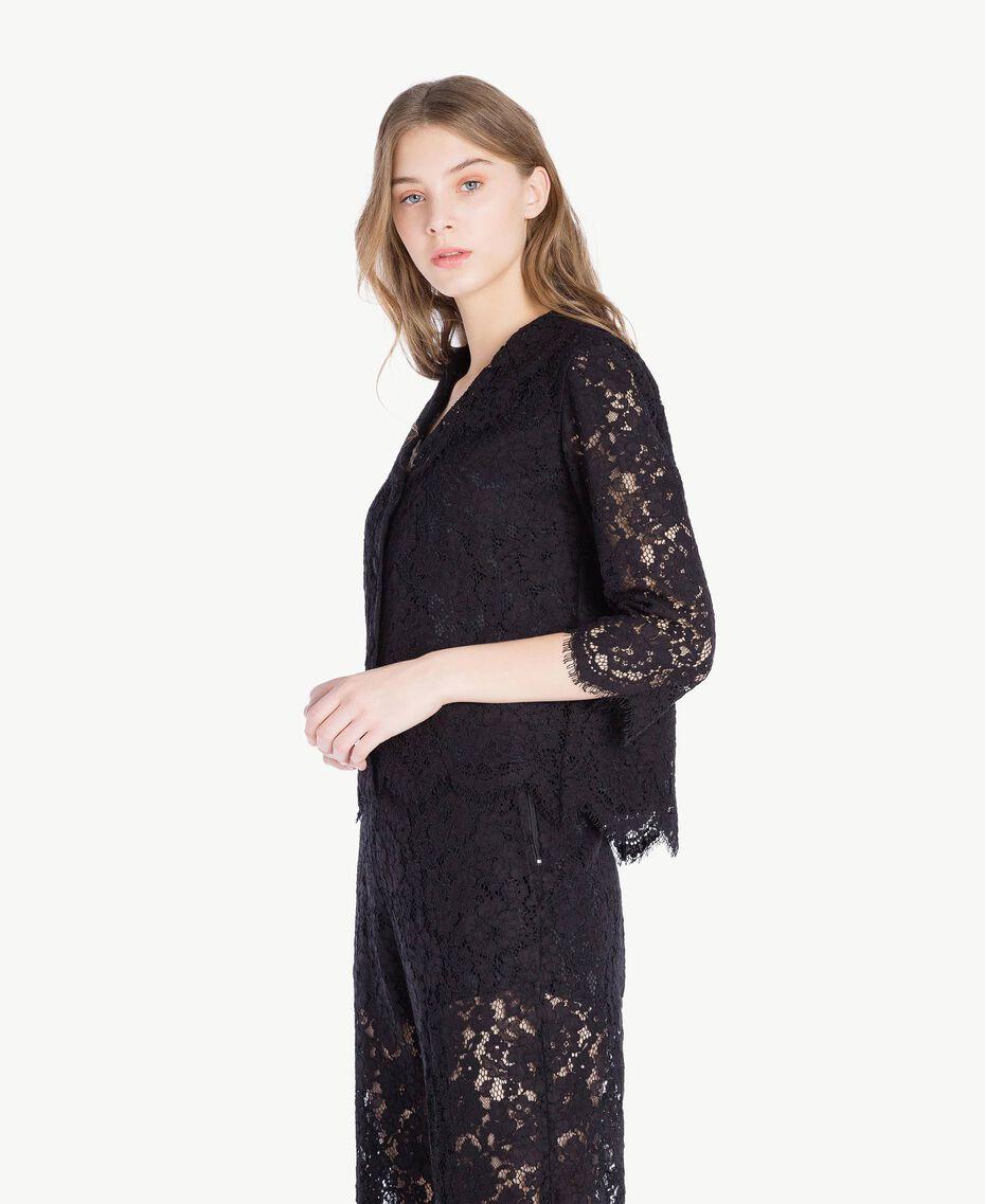 Lace jacket Black Woman PS82XJ-02