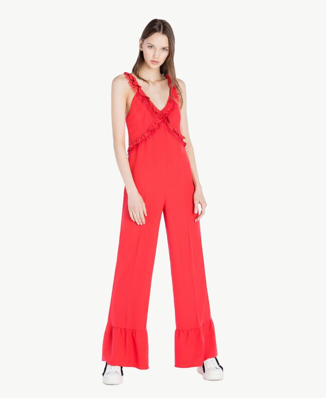 Cady jumpsuit Ginger Red Woman SS82AD-01