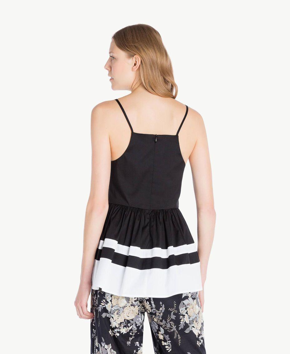 Top Noir / Blanc Optique Femme YS82FB-03