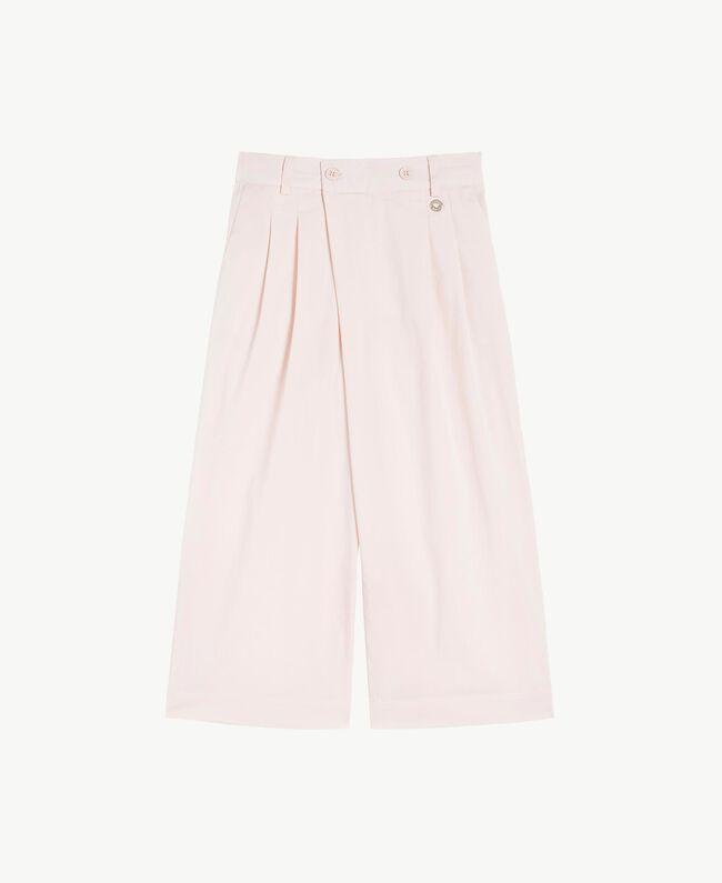 Poplin trousers Bud Pink Child GS82QQ-01