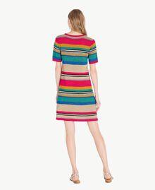 Robe lurex Rayure Multicolore Lurex Femme TS833P-03
